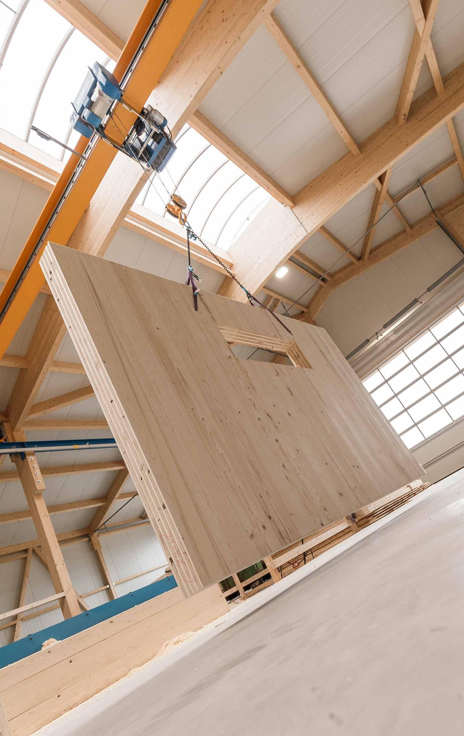 Holzverarbeitung in Woringen