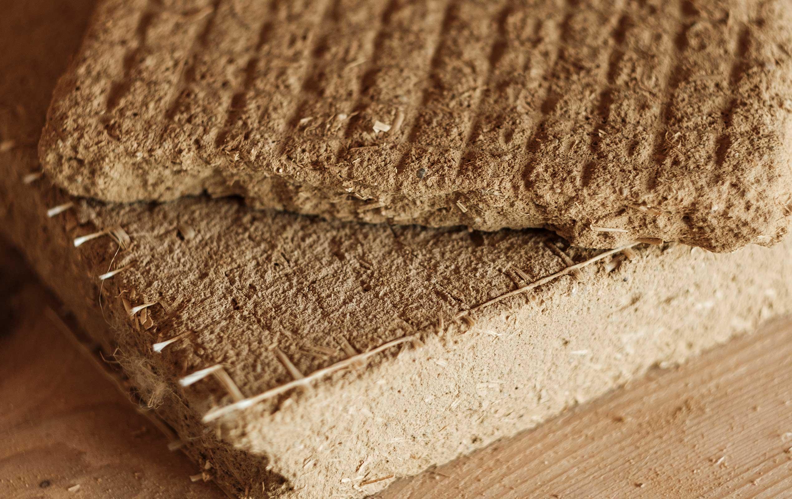 Lehmplatten zur Dämmung
