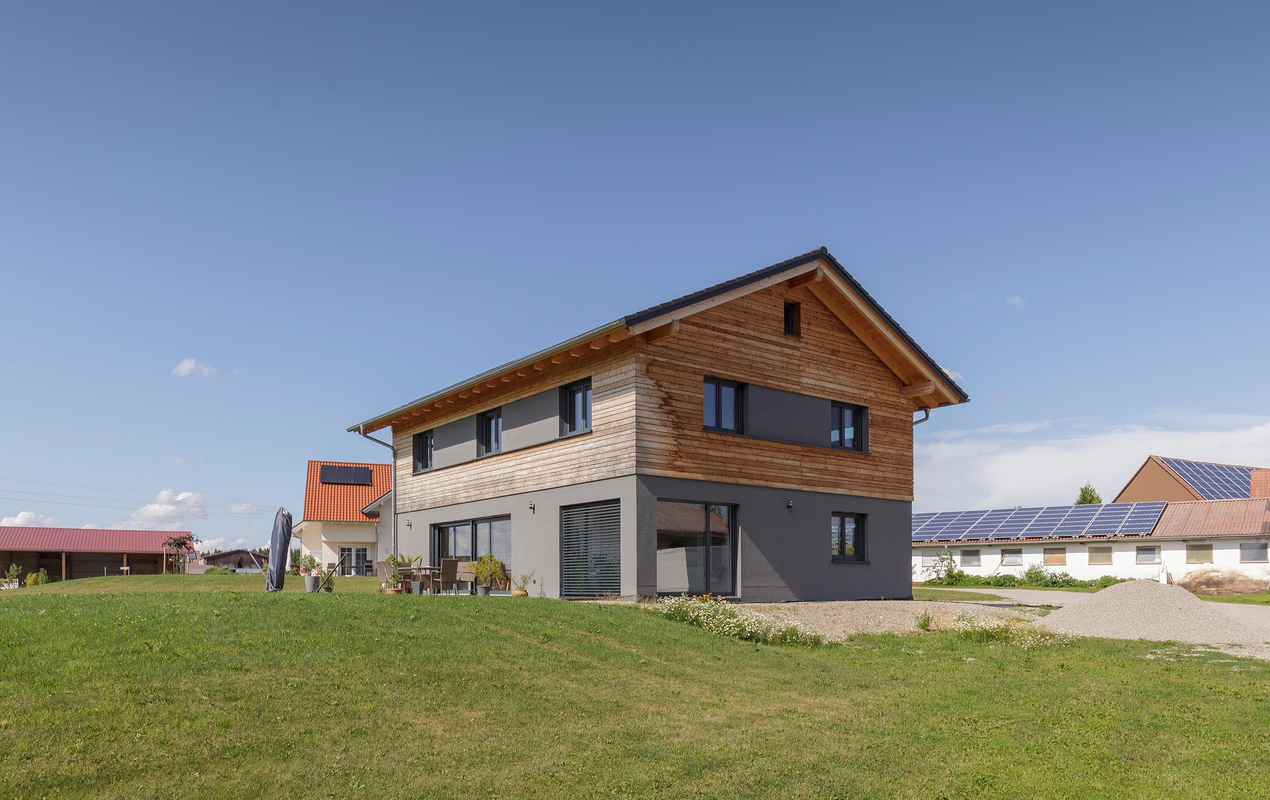 Modernes MHM Haus
